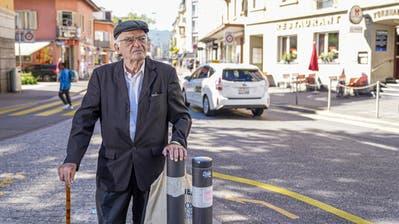 Der Friedensaktivist Argyris Sfountouris, hier an der Zürcher Langstrasse, ging als Waisenkind in Trogen zur Schule. (Bild: Andy Müller/Freshfocus (4. September 2020))