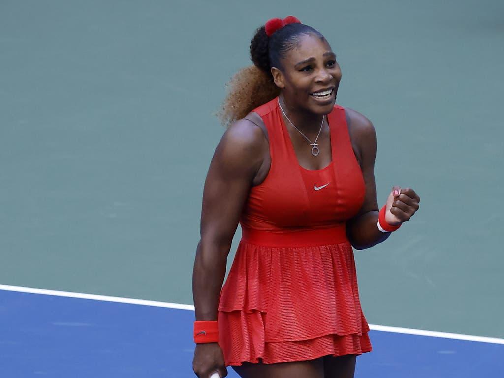 Steigert sich von Match zu Match: Serena Williams strebt am US Open ihren 24. Grand-Slam-Titel an, den ersten als Mutter