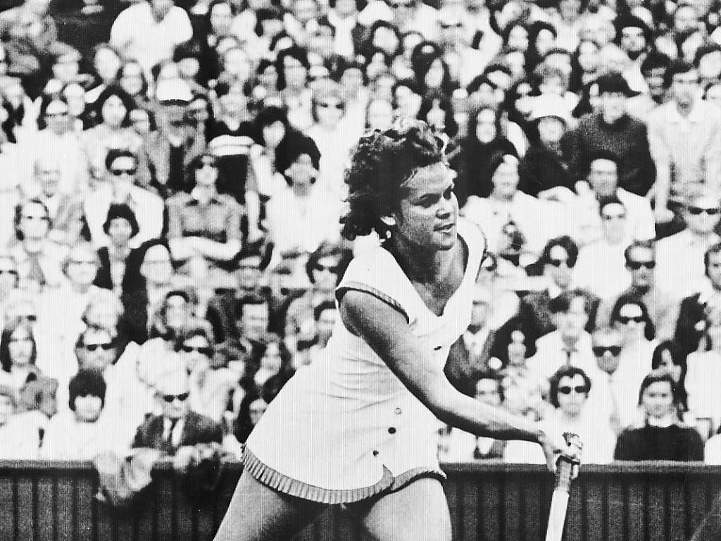 Evonne Goolagong, eine weitere Australierin, triumphierte 1977 am Australian Open und 1980 in Wimbledon als Mutter