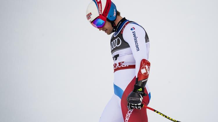 Mauro Caviezel braucht nun etwas Ruhe um sich von der Verletzung zu erholen. (KEYSTONE)