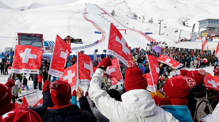 Der ausgefallene Super-G der Frauen von St. Moritz wird nach Italien verlegt. (Keystone)
