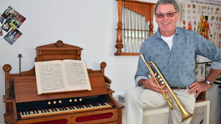 Seit 60 Jahren spielt er in der Region Trompete – nun veröffentlicht er eine CD
