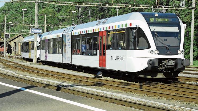 Zugausfälle zwischen Bad Zurzach und Koblenz am nächsten Wochenende