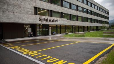 Gelingt mit dem Referendum doch noch die Rettung des Spitals Wattwil? Diese Frage wird sich in diesem Jahr klären. (Bild: Gian Ehrenzeller/KEYSTONE)