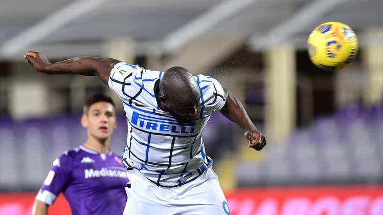 Kam von der Bank und war dann zur Stelle, als es ihn brauchte: Inters Romelu Lukaku traf zum 2:1 und wurde zum Matchwinner. (Keystone)