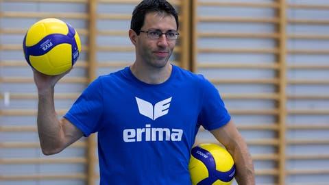 Alessandro Lodi ist nicht mehr Trainer von Volley Luzern. (Bild: Patrick Huerlimann (Luzern, 23.09.2020))