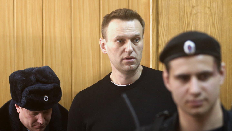 Alexey Nawalny imChariteSpitalin Berlin, wo er nach seiner Vergiftung behandelt wurde. (Archivbild) (Keystone)