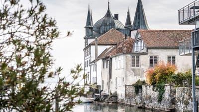 Der Turmhof gilt als Wahrzeichen des Städtchens am Untersee. (Bild: Andrea Stalder (Steckborn,22. Oktober 2020))