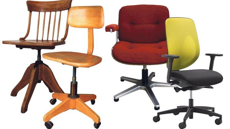 Wie Giroflex-Patron Albert Stoll den drehbaren Bürostuhl erfand