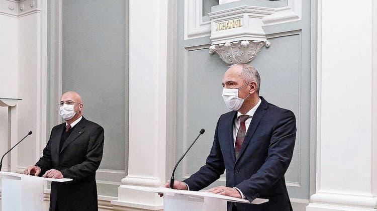 Ab Montag gilt in der Schule Maskenpflicht für Kinder ab einen Alter von zwölf Jahren