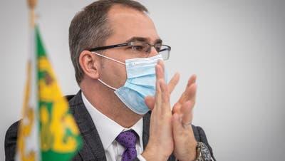 Der Thurgauer Gesundheitsdirektor, SVP-Regierungsrat Urs Martin. (Bild: Reto Martin)