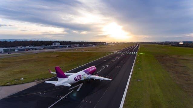 Der Bodensee-Airport Friedrichshafen musste letztes Jahr einen heftigen Einbruchverkraften. (Bild: PD)