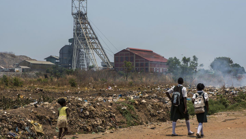 Blick auf die Mopani Copper Mines in Sambia. (Waldo Swiegers/Bloomberg (Kitwe, 7. Oktober 2015))