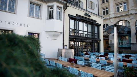 Das Restaurant Opus in Luzern: eines der zahlreichen Lokale der Remimag AG. (Bild: Corinne Glanzmann)