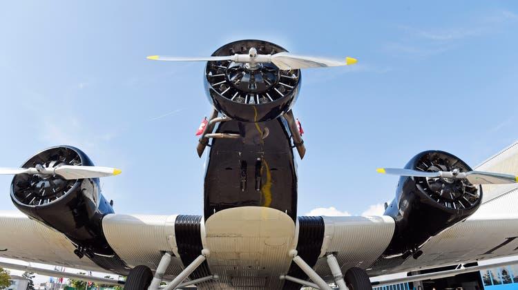 Etwas für Nostalgiker: Eine JU-52. (Keystone)