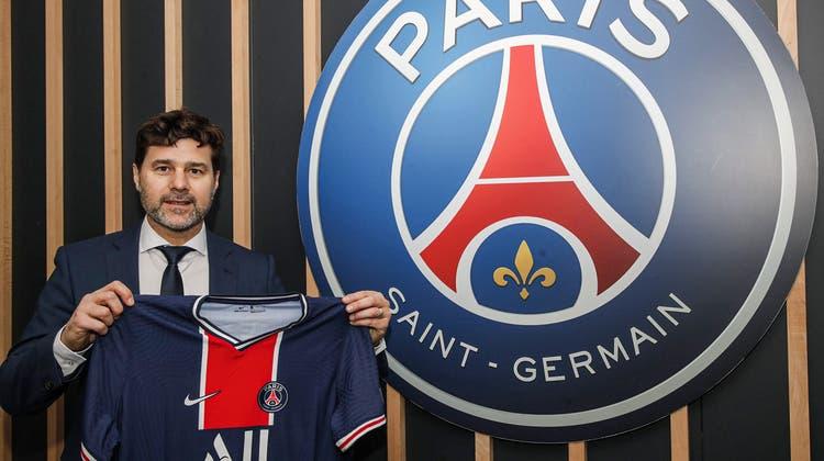 Mauricio Pochettino (48) unterschreibt bei PSG einen Vertrag bis zum 30. Juni 2022 (Twitter: Paris Saint-Germain)