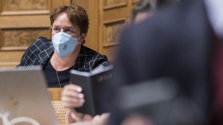 Die sichereren FFP2-Masken werden immer öfter getragen: Magdalena Martullo-Blocher hat sie auf... (Bilder: KEY, DPA, AP, EPA Bild: Key)