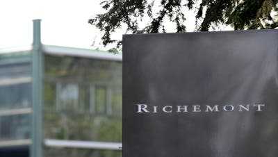 Der weltweit tätige Luxusgüterhersteller Richemont mit Hauptsitz im Kanton Genf konnte im Weihnachtsgeschäft leicht zulegen. (Keystone)