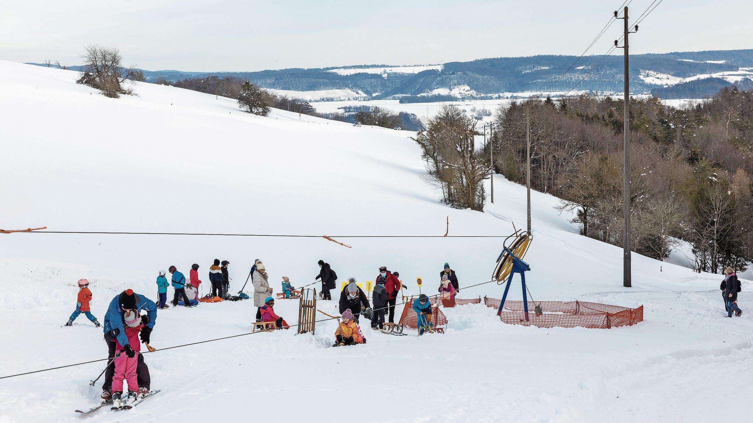 Am kommenden Wochenende wird am Rotberg mit einem grossen Ansturm gerechnet.