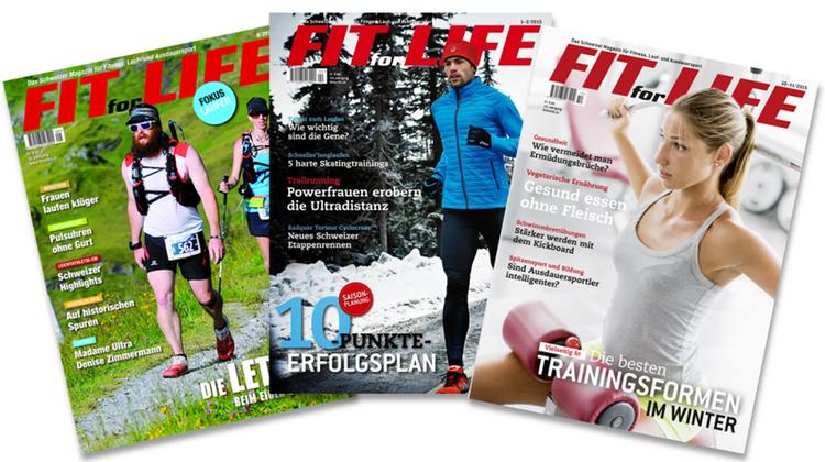 Fit for Life ist Plattform und Magazin zugleich. (HO)