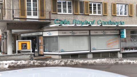 Über 70 Jahre gab es im Frauenfelder Rhyhof ein Café. (Bild: Donato Caspari)