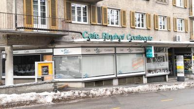Café-Confiserie Hirt an der Rheinstrasse in Frauenfeld ist wegen des Konkurses ab sofort geschlossen. (Bild: Donato Caspari)