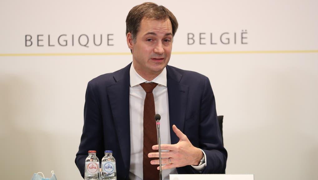 Greift zu drastischen Massnahmen: Der belgische Premier Alexander De Croo (Archiv) (Keystone)