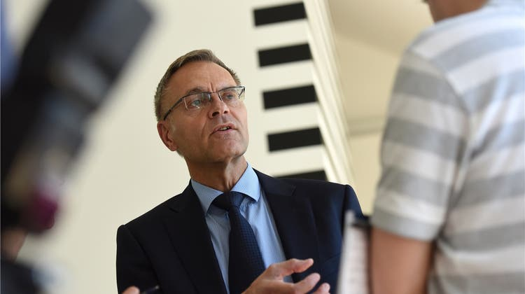 Gerhard Lips kandidiert für die LDP
