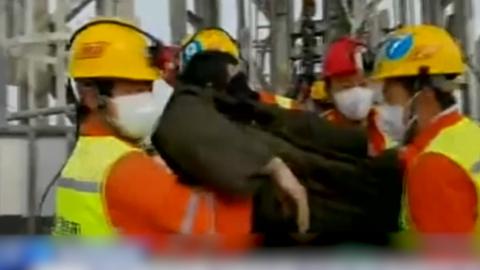 Minen-Unglück in China: Verschütteter Bergmann nach zwei Wochen gerettet