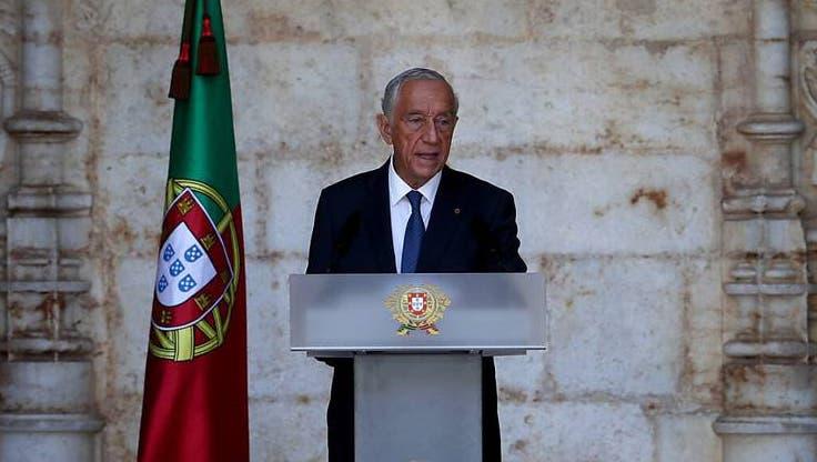 Der portugiesische Präsident Marcelo Rebelo de Sousa hat sich eine zweite Amtszeit gesichert. Photo: Pedro Fiuza/ZUMA Wire/dpa (Keystone)