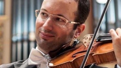 Jonas Erni (an der Violine) und André Stocker (Organist) präsentieren«Violinkunst» in der Kirche. (Bild: orgelpunkte.ch)