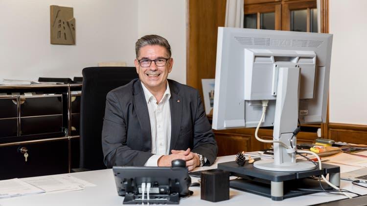 Will Stadtammann bleiben: Markus Schneider (CVP). (san)