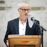 Markus Mötteli an der letzten Gemeindeversammlung im Dezember. (Bild: Britta Gut)