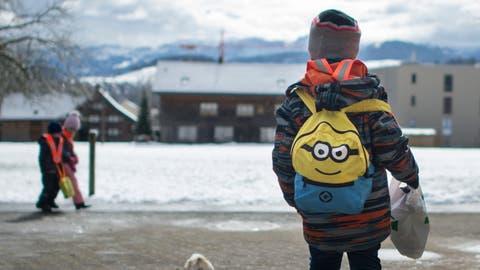 22 Kindergartenkinder wurden nach Hause geschickt. (Bild: Benjamin Manser (3. März 2016))