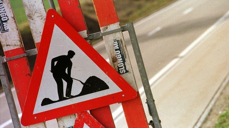 An der Haagerstrasse zwischen Gams und Haag wird dieses Jahr erneut gebaut. (Chris Mansfield)