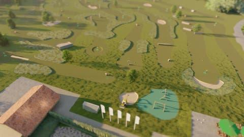 Die Visualisierung zeigt, wie die Freizeitanlage eines Tages aussehen könnte. (Bild: PD)