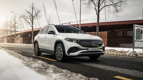 Mercedes-Benz EQA. (Bild: zVg)