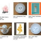 Poster, Keramik, Karte– im Webshop «support your local artist» können Schweizer Kunstschaffende ihre Werke verkaufen. (Bild: Screenshot)