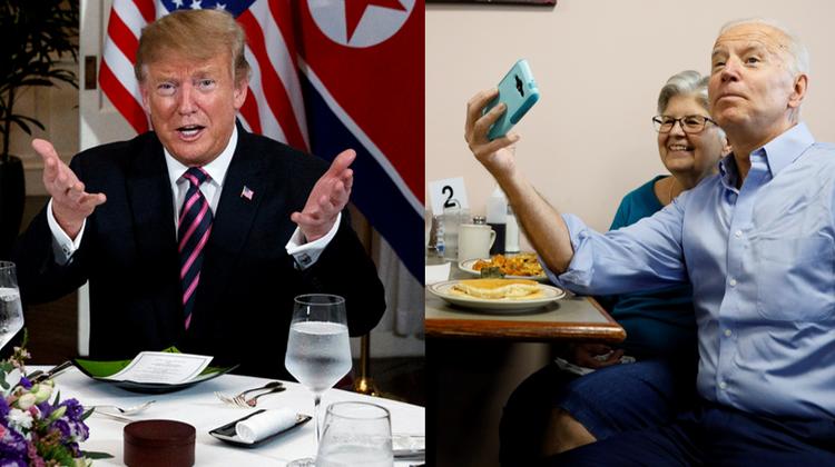 Hat immer wieder betont, dass er in seinem ganzen Leben noch nie einen Tropfen Alkohol getrunken habe: Donald Trump. (Keystone)