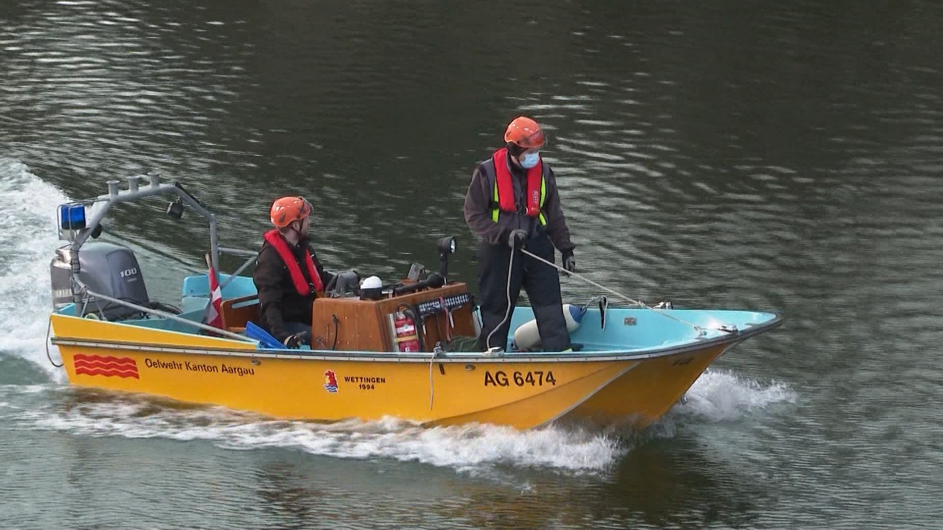 Die Leiche musste mit einem Boot geborgen werden.