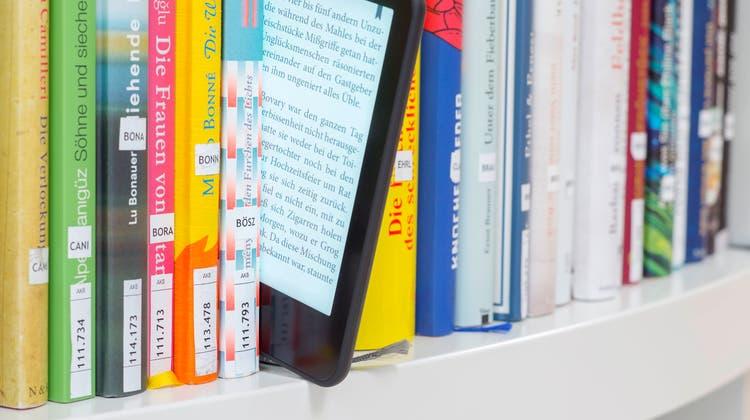 Dank Corona: Die Stadtbibliothek hat ihr digitales Angebot ausgebaut. (zvg: Stadtbibliothek)