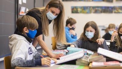 Während der zweiten Welle immer offen: Primarschulen in der Schweiz. (Bild: Ennio Leanza/KEY)