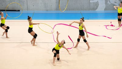 Eine Sportart, die so schön sein kann, aber in Magglingen so viel Schmerz verursachte: Rhythmische Gymnastik. (Urs Lindt / Freshfocus)