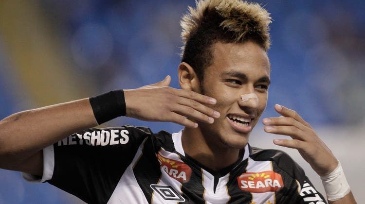 Für Neymar erhielt Santos 86 Millionen Euro. (Felipe Dana/Keystone)
