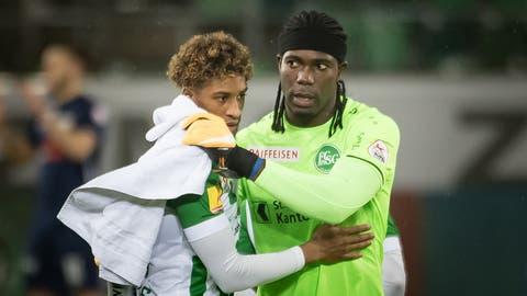 FCSG-Keeper Lawrence Ati Zigi: Wie bewerten die Fans seine Leistung? (Bild: Michel Canonica)