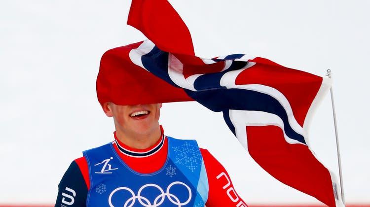 Der Norweger Johannes Kläbo kehrt Ende Januar in Lahti wieder in den Langlauf-Weltcup zurück. (Bild: AP)