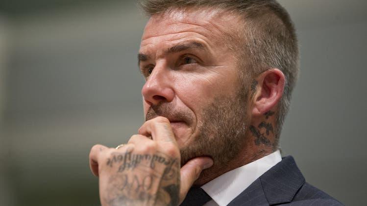 David Beckhams Investorengruppe gehört der Verein Inter Miami. Nun muss der Engländer wohl über einen neuen Namen nachdenken. (Keystone)