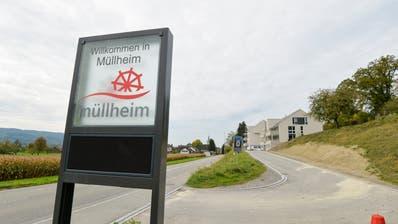 Die östliche Ortseinfahrt der Gemeinde im Thurtal. (Bild: Donato Caspari (Müllheim,4. Oktober 2017))