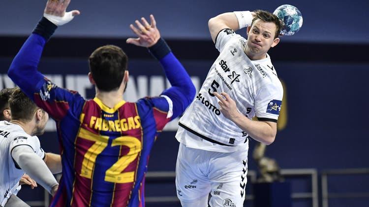 Sander Sagosen, eben erst mit dem THW Kiel Champions-League-Sieger geworden, hat Bedenken wegen der anstehenden Handball-WM. (Keystone)