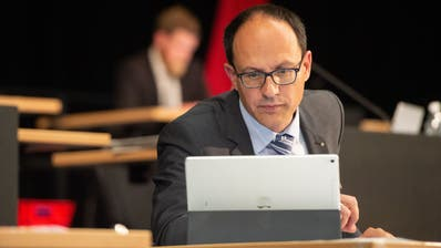 Marc Mächler, St.Galler Finanzchef (FDP). (Bild: Benjamin Manser)